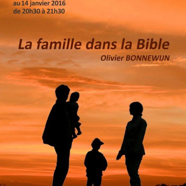 La famille dans la bible